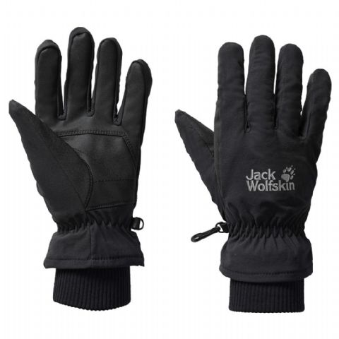 Jack Wolfskin Unisex Flexshield Basic Gloves / Winter - Black